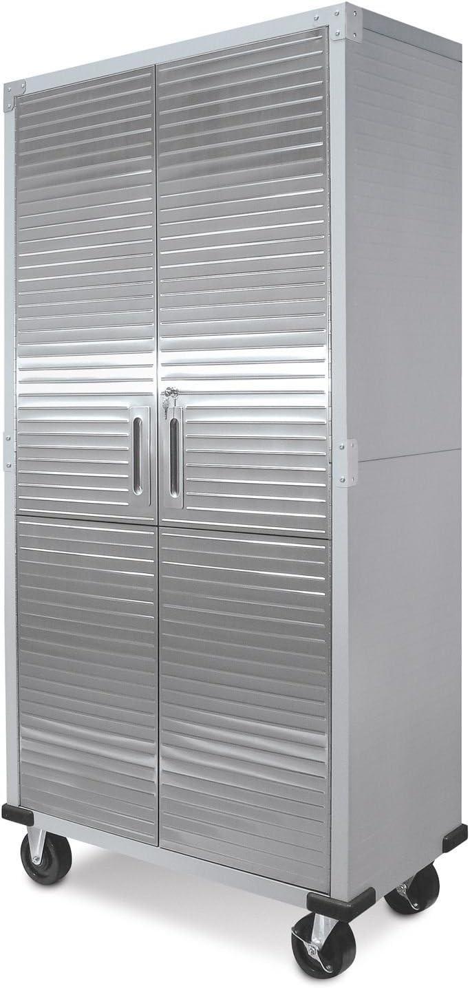 Storage Cabinet Organizer, Shelving Unit, Commercial Industrial Garage Business Office Storage