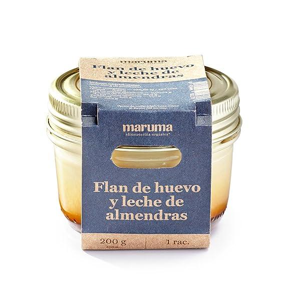 Cocina Maruma - Flan de huevo y leche de almendras, 200 g