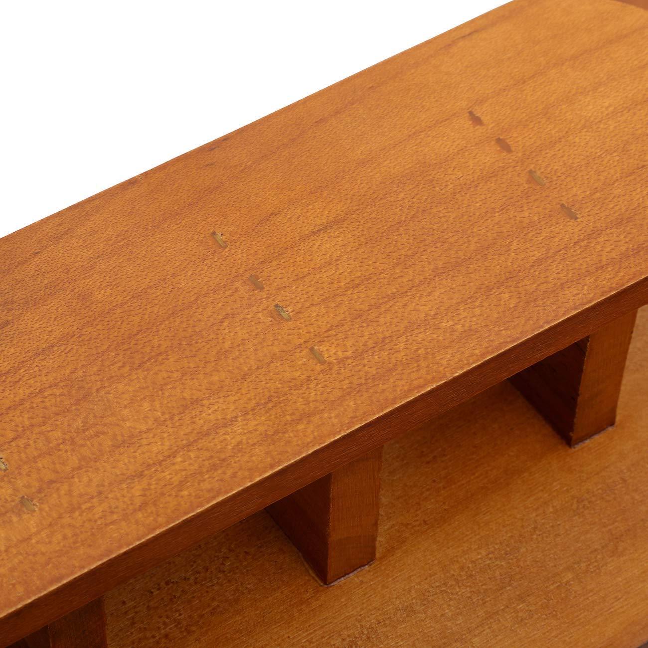 Playwell Artes Marciales Budo Kanji 10 Cintur/ón Soporte Expositor