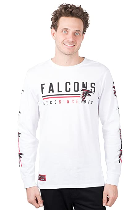 ICER Brands NFL Atlanta Falcons Men s T-Shirt Active Basic Long Sleeve Tee  Shirt 6f9784cfd