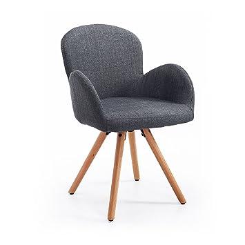 Homcom Esszimmerstuhl Wohnzimmerstuhl Armsessel Sessel Stuhl