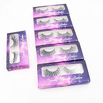447f3d4c7b5 Amazon.com : 3d fake eye lashes wholesale private label hand made false  eyelashes makeup real mink fur lashes 6 pairs : Beauty