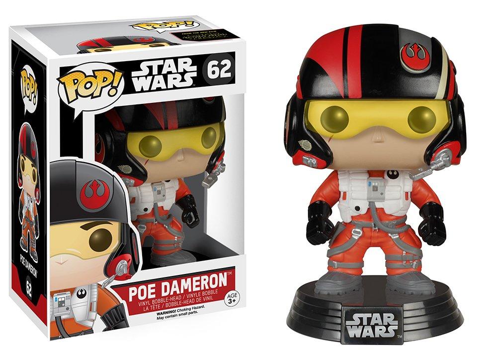 Star Wars Episode 7 Pop Poe Dameron Funko 6222 Accessory Toys /& Games Miscellaneous