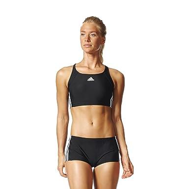 c96491e6 adidas Women's Infinitex EC Set 3 Stripes Bikini, Womens, Damen Bikini Set  Infinitex Ec 3 Streifen