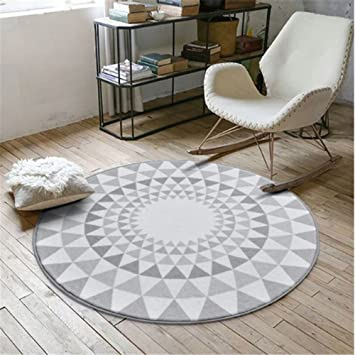 Round Carpets For Living Room Computer Chair Area Rug Children Play Tent  Floor Mat Cloakroom Rugs