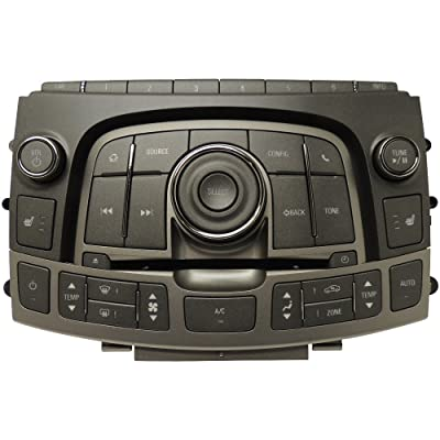 22798933 HVAC & Audio Control Panel Assembly 2013 Buick LaCrosse: Automotive