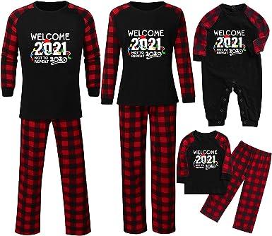 Conjunto de pijama de Navidad con manga larga y pantalón ...