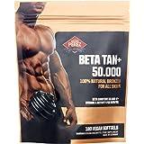 BETA TAN+ / 50.000 IE Beta Carotin pro Dosis - 180 vegane Softgels - 100% natural bronzer for all skins