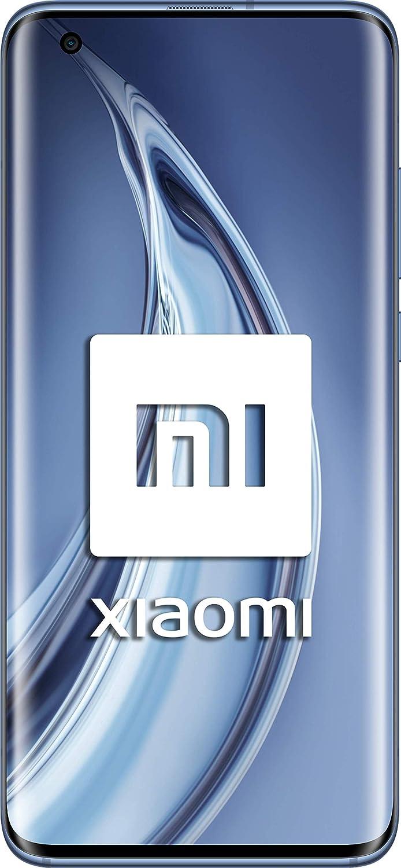"Xiaomi Mi 10 Pro (Pantalla FHD+ 6.67"", 8GB+256GB, Cámara de 108MP, Snapdragon 865 5G, 4500mah con Carga 50W, Android 10) Gris [Versión española]"