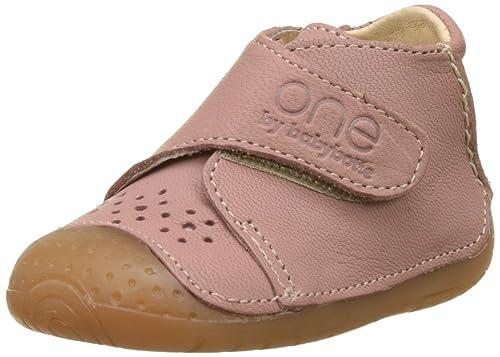 Babybotte - Patucos de Otra Piel Bebé-Niñas, Rosa (Rosa (Rose 033)), 17 EU