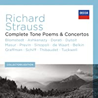 Richard Strauss - Complete Tone Poems & Concertos (13 Components)