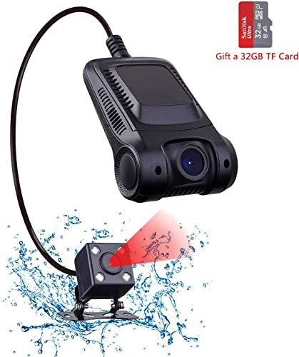 Dash Cam, Dashboard Camera Recorder with Full HD 1080P, 170 Wide Angle Lens, G-Sensor, Clear Nighttime Recording, WDR and Loop Recording