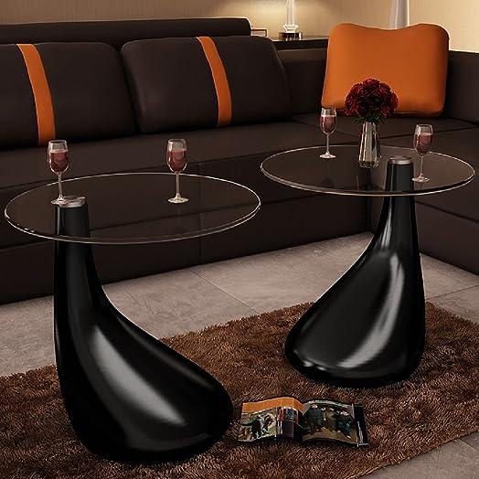 vidaXL Coffee Tables 2 pc