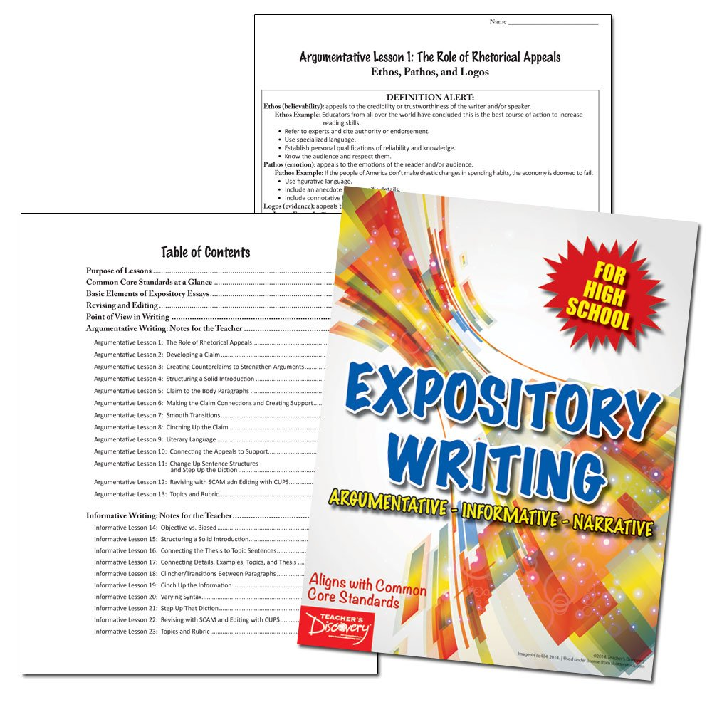 Amazon com : Expository Writing for High School : Office