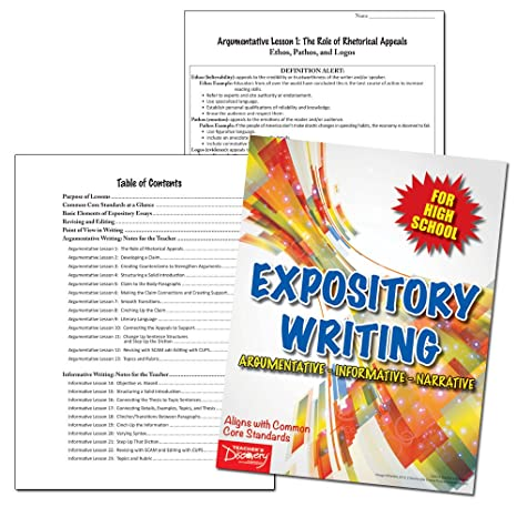 expository writing high school
