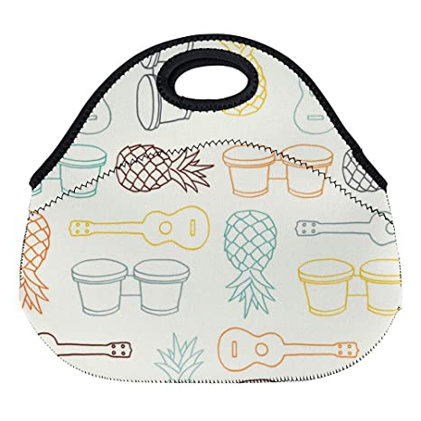 Amazon.com: DKISEE - Bolsas de almuerzo de neopreno con ...