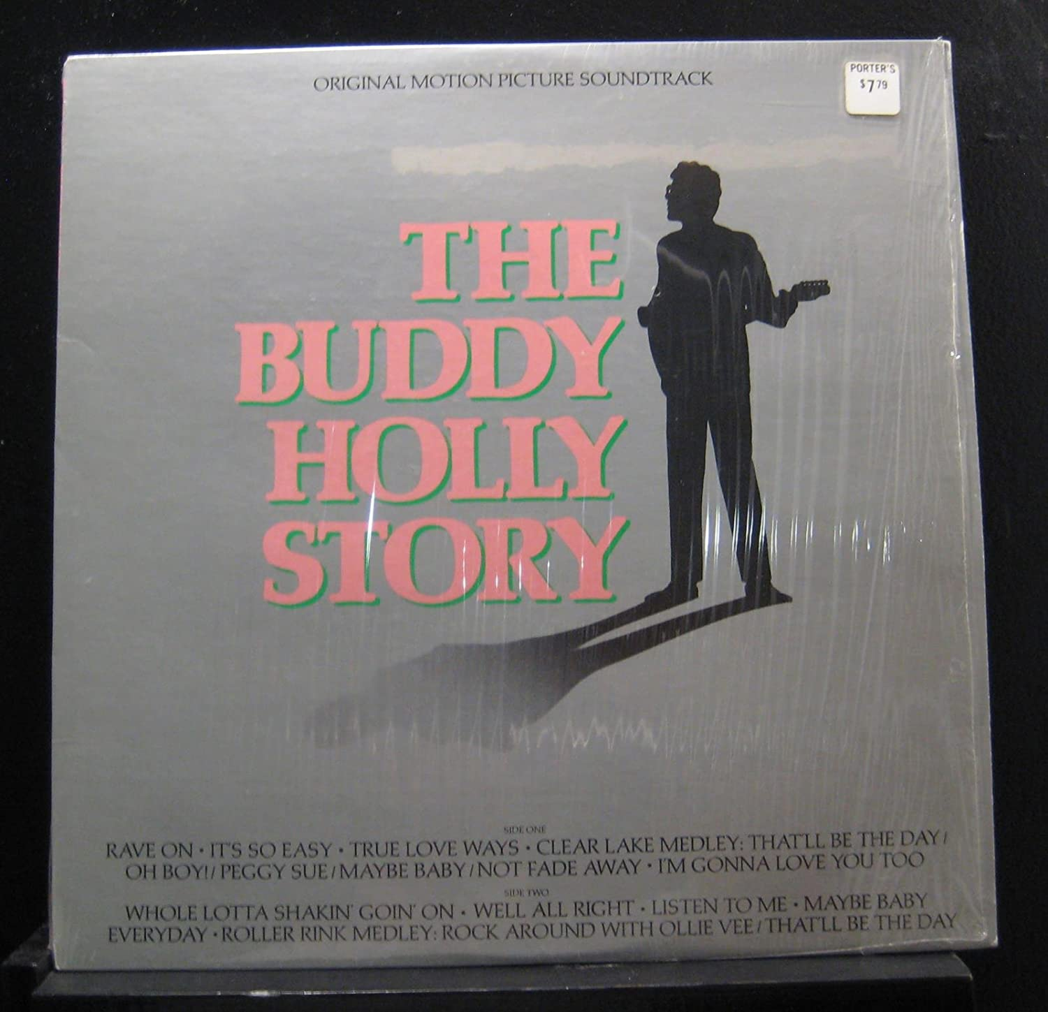 Gary busey buddy holly the buddy holly story original motion gary busey buddy holly the buddy holly story original motion picture soundtrack amazon music negle Images