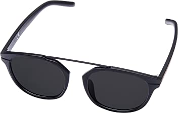 10a753422d MIRA MR-811 Womens Black Sunglasses - Polarized Lenses with 100% UVA and UVB