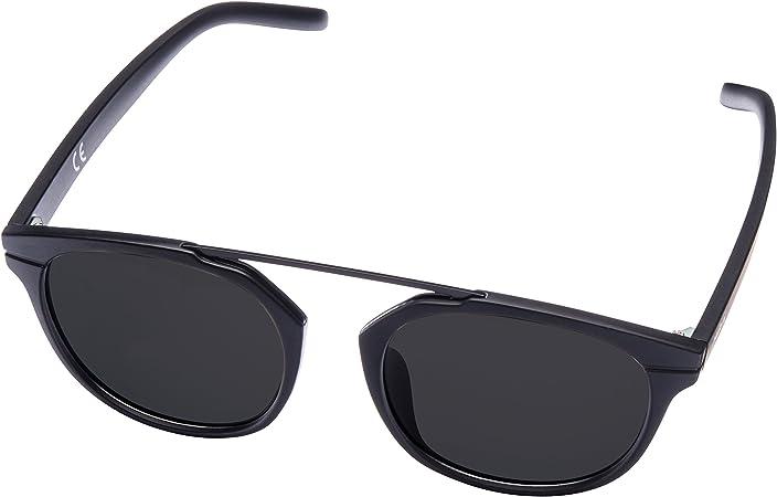 Gafas de sol MIRA MR-811 para mujer negras - Lentes polarizadas con protección 100% UVA y UVB para exteriores - Diseño retro cómodo - Incluye funda de presentación y bolsa de transporte