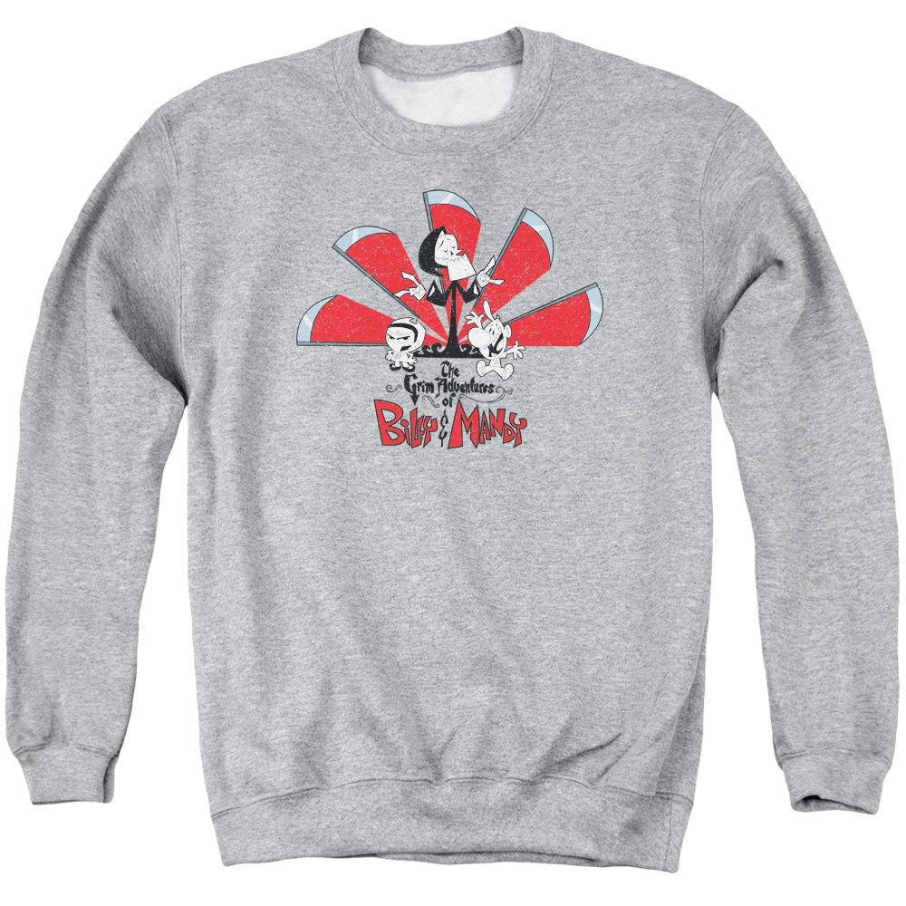Billy & Mandy Herren Sweatshirt Opaque Grau Grau