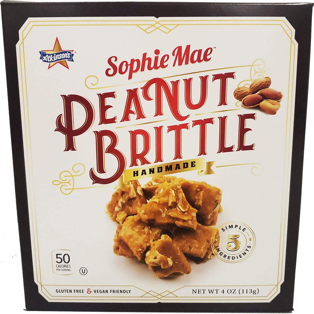 (Pack of 36) Sophie Mae Handmade Peanut Brittle Box 4oz by Unknown