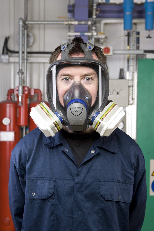 6099 vapores y part/ículas A2B2E2K2HgP3 R Filtro combinado 3M para gases