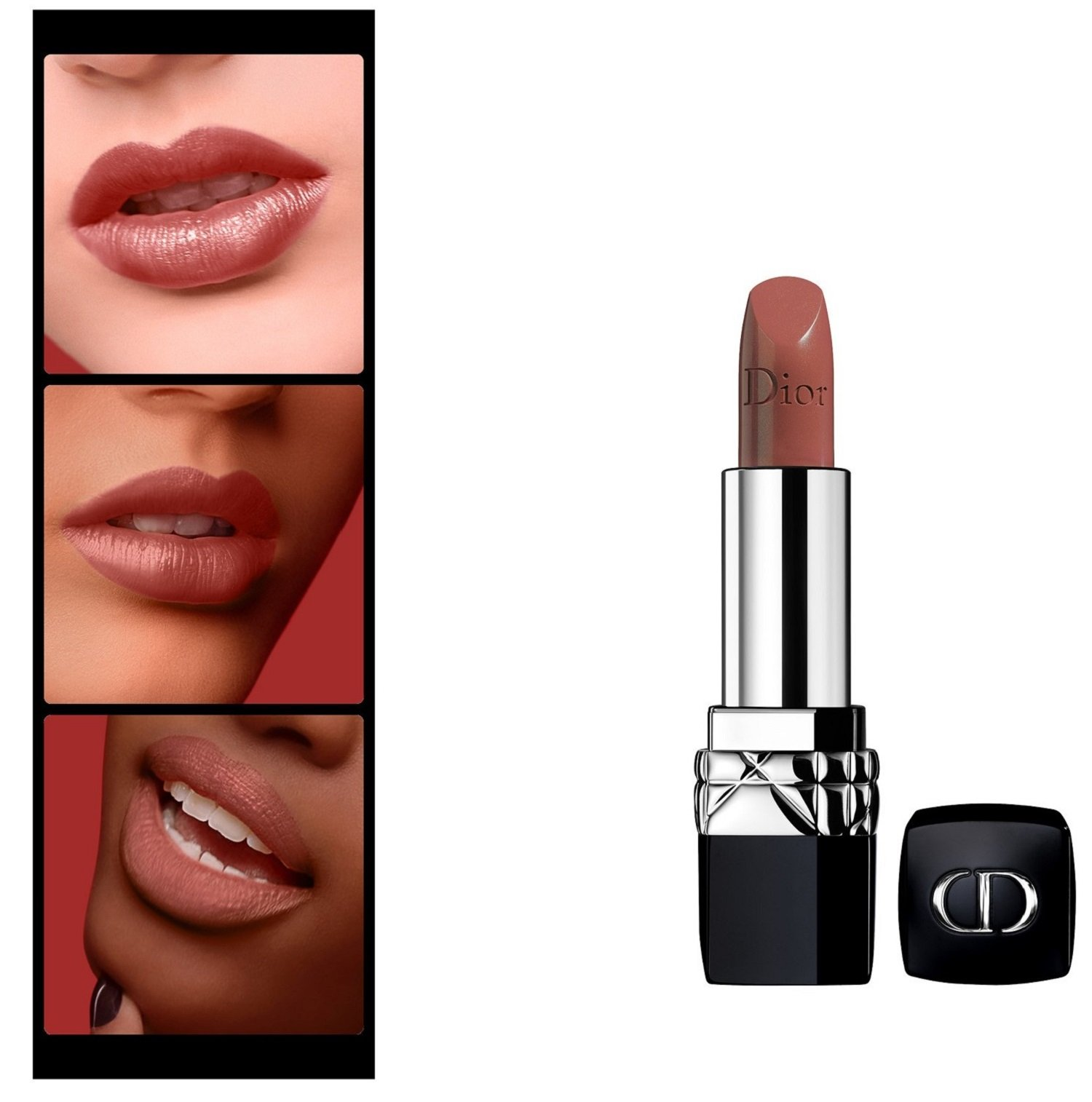 Christian Dior Rouge Dior Couture Colour Comfort and Wear Lipstick, 434 Promenade, 0.12 Ounce