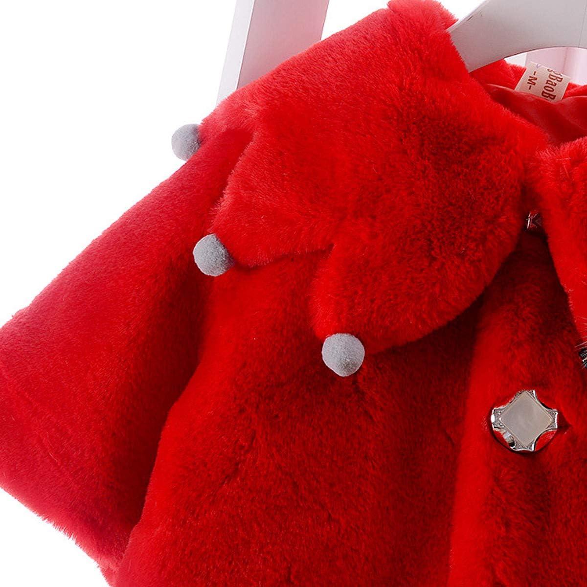 remeo suit Baby Girl Octopus Collar Warm Thick Fleece Jacket Coat Winter Outwear