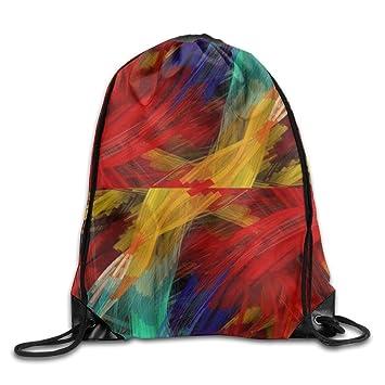 Kathleen abstracto colorido 3d impresión diseño de cara sonriente emoticono suave Casual mochila escolar libro bolsas mochila cordón mochilas para viajar o ...