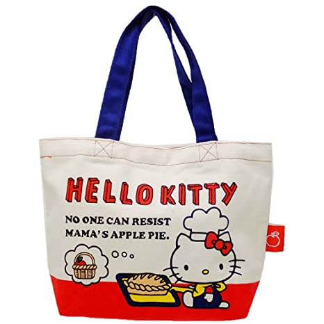 e04c8d17630 Image Unavailable. Image not available for. Color  SANRIO Hello Kitty  Cotton Mini Tote Bag ...