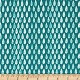 Art Gallery Succulence Jersey Knit Abundance Monsoon Fabric By The Yard