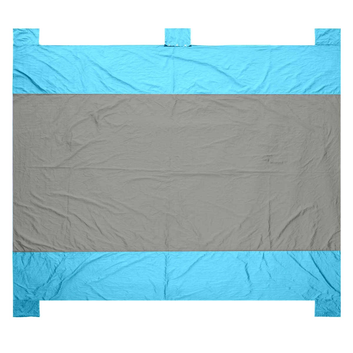 GOOACC Large Outdoor Blanket with Durable Nylon - Huge Beach Mat with Four Anchor