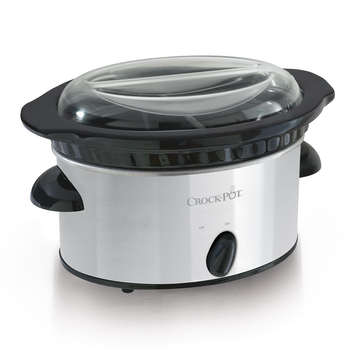 Amazon.com: Crock-Pot SCDD-SS Double Dipper Warmer Slow Cooker ...