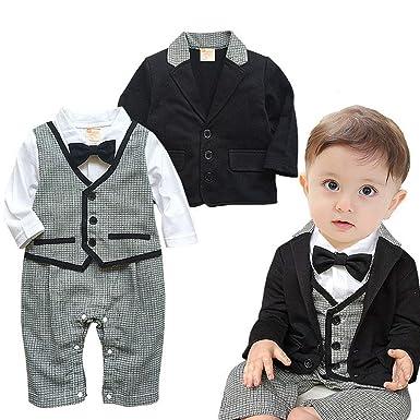 Amazon.com: Tronet - Conjunto de ropa para bebé, chico, lazo ...