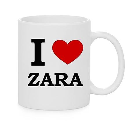 I taza del corazón Zara (amor)
