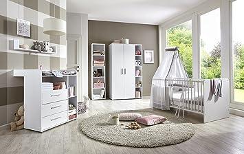 Babyzimmer Komplettset Kindermöbel Babymöbel Komplett Set Kim 3 In