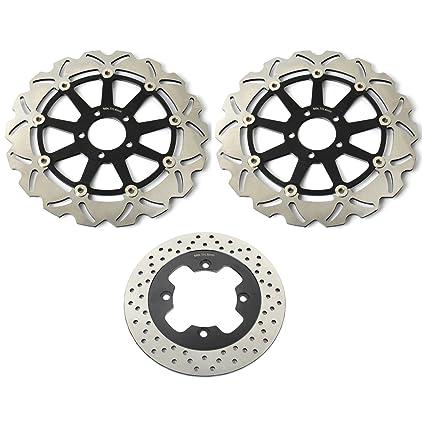 TARAZON 3x Rotores Discos de Freno Delantero y Trasero Kit ...