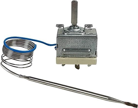 EGO 55.17012.010 Thermostat max Temperatur 85/°C 1-polig F/ühler /ø 6x94mm 1NO 30-85/°C Achse /ø 6x4,6x23mm oben Drehwinkel 270/°