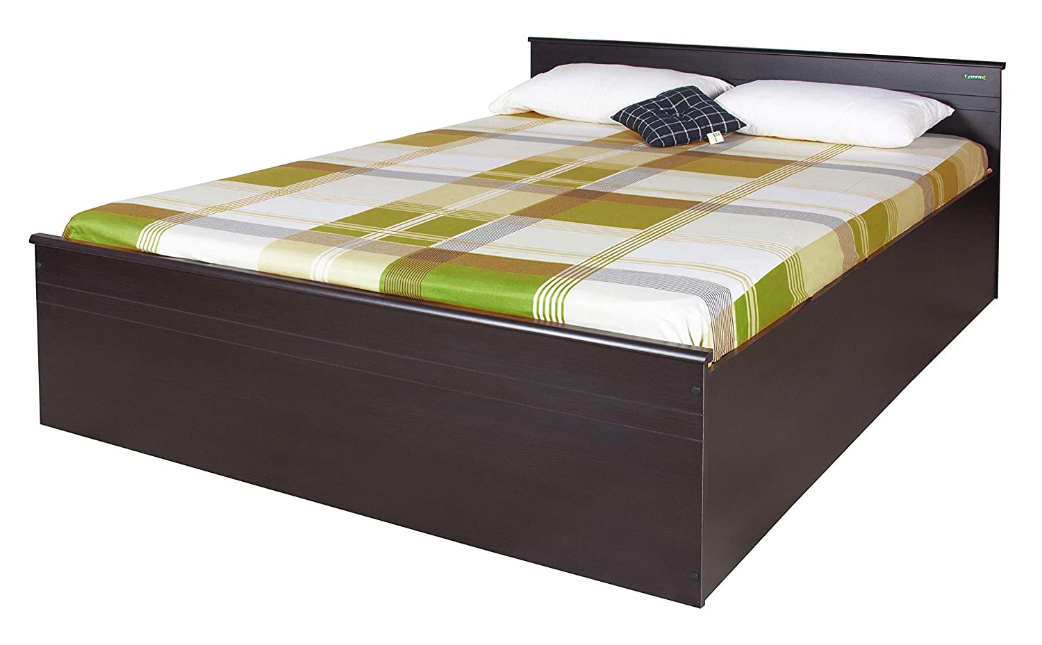 Zuari Timatall King Box Storage Bed (Imperial Teak)