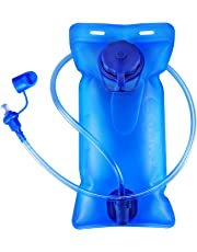 2L Hydration Bladder Bag, GIM Upgrade Hydration Backpack BPA Free Leakproof Water Reservoir with Self-Locking Valve for Cycling Water Bag for Sports Hiking Camping Climbing Hiking Blue