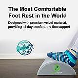 ErgoFoam Ergonomic Foot Rest Under Desk   Premium