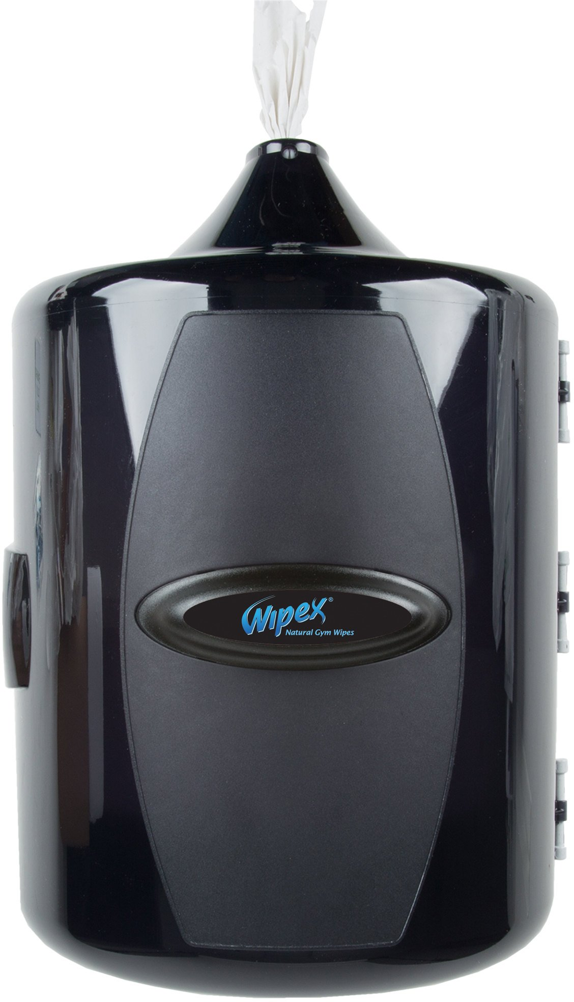Wipex Wall Mounted Gym Wipes Dispenser for Gyms, Yoga, Health & Fitness Centers by Wipex