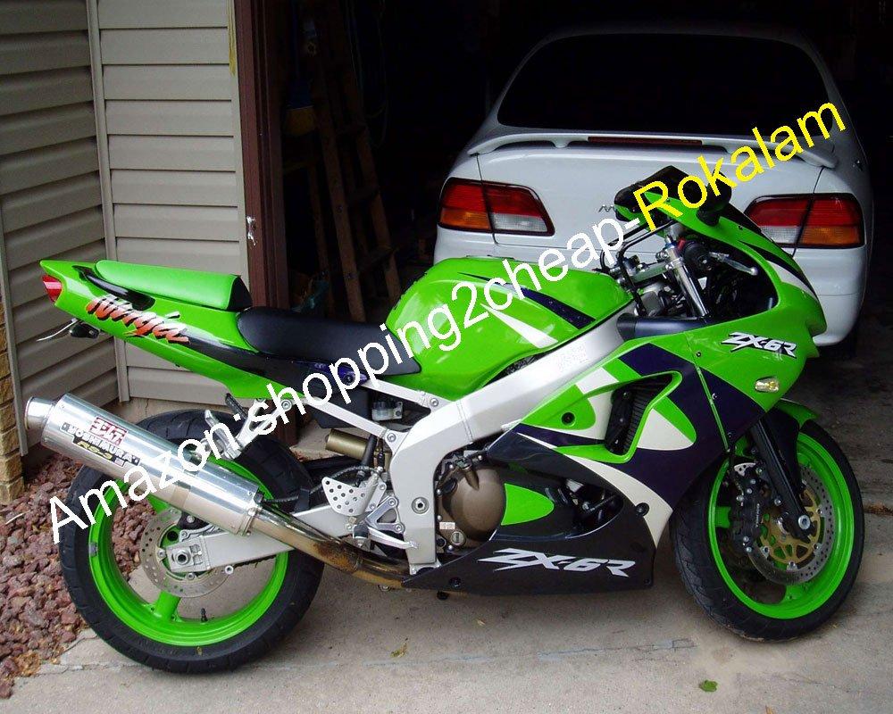 Hot Sales - Kit de carenado verde para Kawasaki NINJA 98 99 ...
