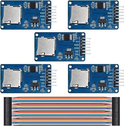 Amazon.com: KeeYees - Lector de tarjetas Micro SD Mini TF (5 ...