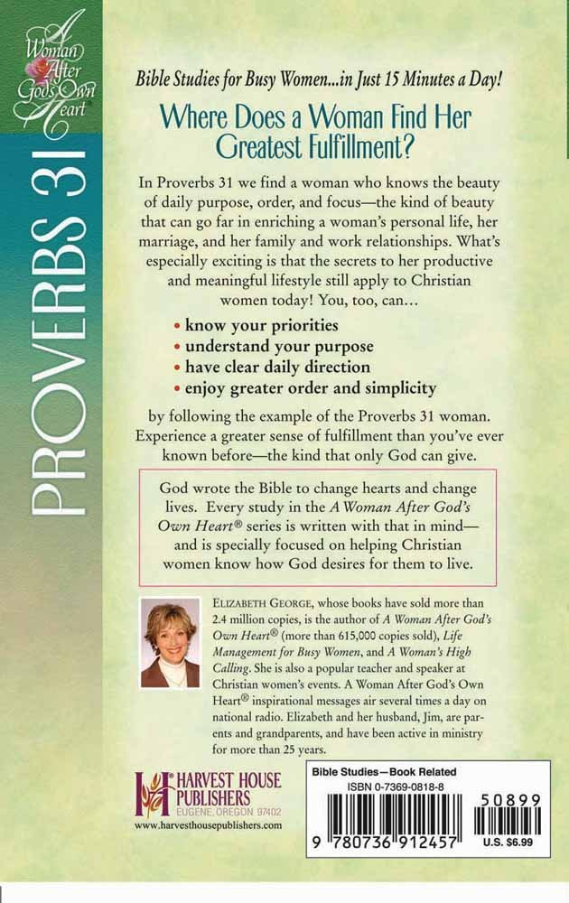 Discovering the Treasures of a Godly Woman: Proverbs 31 (A