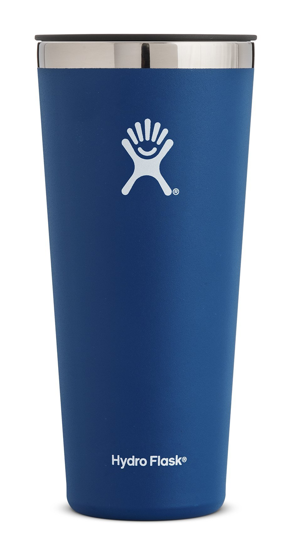Hydro Flask 32 oz Tumbler Cup | Stainless Steel & Vacuum Insulated | Press-In Lid | Cobalt