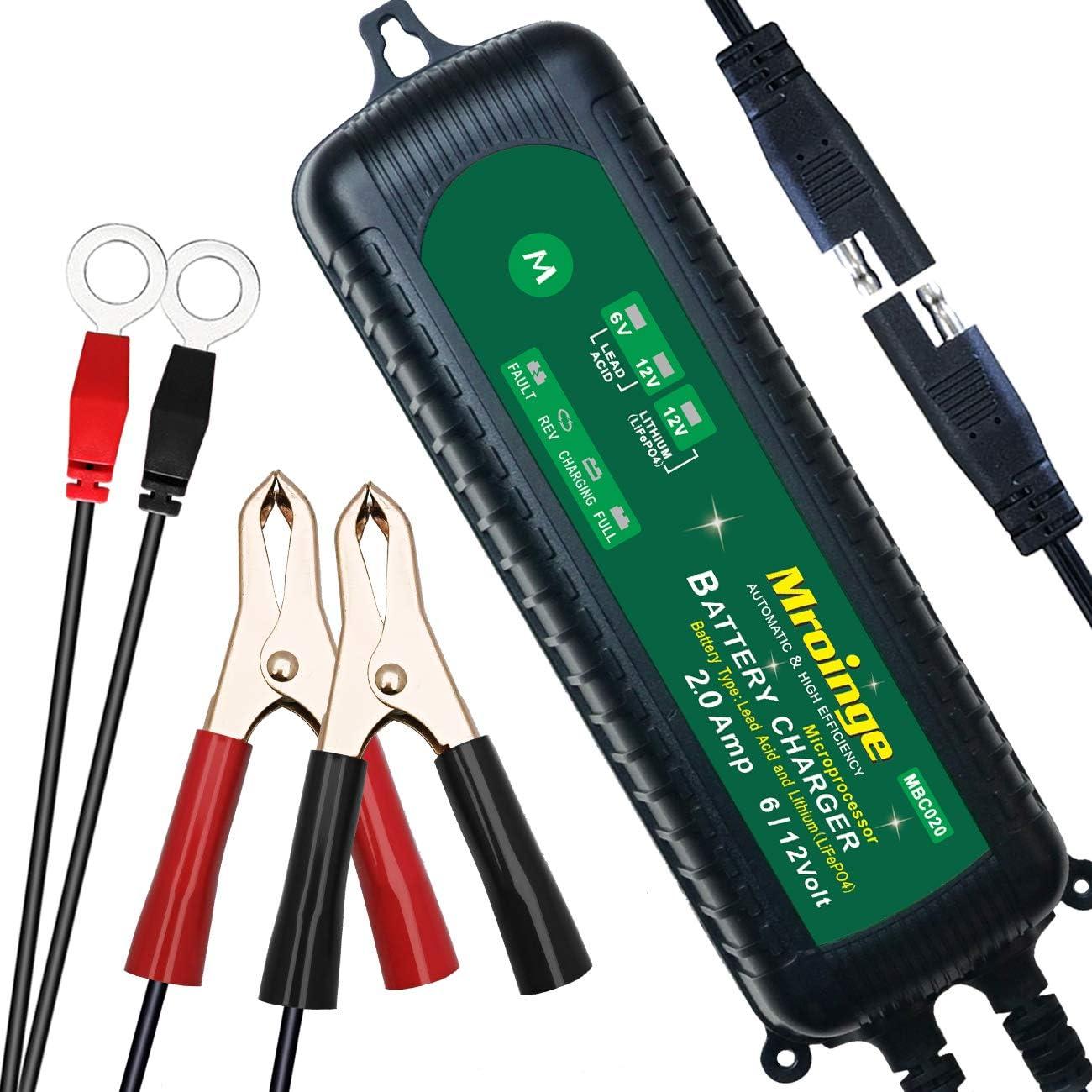 Mroinge全自动滴流电池充电器维修