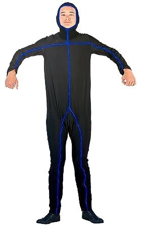 Light Up Stick Figure Bodysuit Costume (Adult M/L)