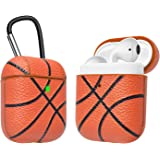 AirPods Case, Takfox Airpod Case Cover Protective Shockproof Scratch Resistance Premium Leather Headphone Case with…