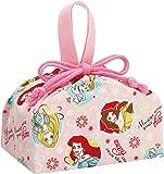 ランチ巾着 プリンセス 17 弁当箱用 巾着袋 ディズニー KB7